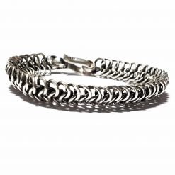Sterling Silver Silver  Worm Bracelet Animal Bracelet Silver Women Bangle Pack Of 1 Bracelet Ideal for Men - Jewelfort