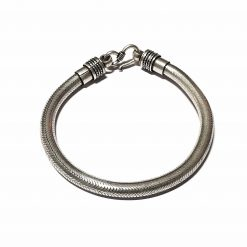 Sterling Silver Silver  Snake Bracelet Animal Bracelet Silver Women Bangle Pack Of 1 Bracelet Ideal for Men - Jewelfort