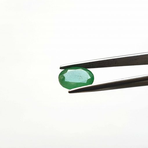 Natural Green Oval Faceted Cut 2.85 ct Zambia Emerald No Treatment September Birthstone Precious Stone