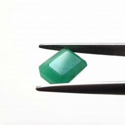 Natural Green Octogon Faceted Cut 4.75 ct Sakota Emerald No Treatment January Birthstone Precious Stone