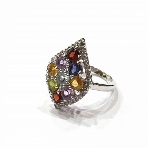 Sterling Silver Multi Multi Simplistic Crown Ring Everyday Silver Rings Rings Rings for Women jewellery for women Pack Of 1 Ring Ideal for Women