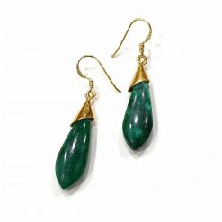 Sterling Silver Green Malachite Classic Tie Earrings Everyday Earrings Silver Jewellery Gift Silver Earrings Silver Gifts Pack Of 1 Pair Earring Ideal for Women