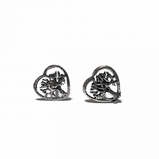 Sterling Silver Silver  Nature Love Earrings Ethnic small earrings silver gifts gifts jewellery Pack Of 1 Pair Earrings Ideal for Women::Girls