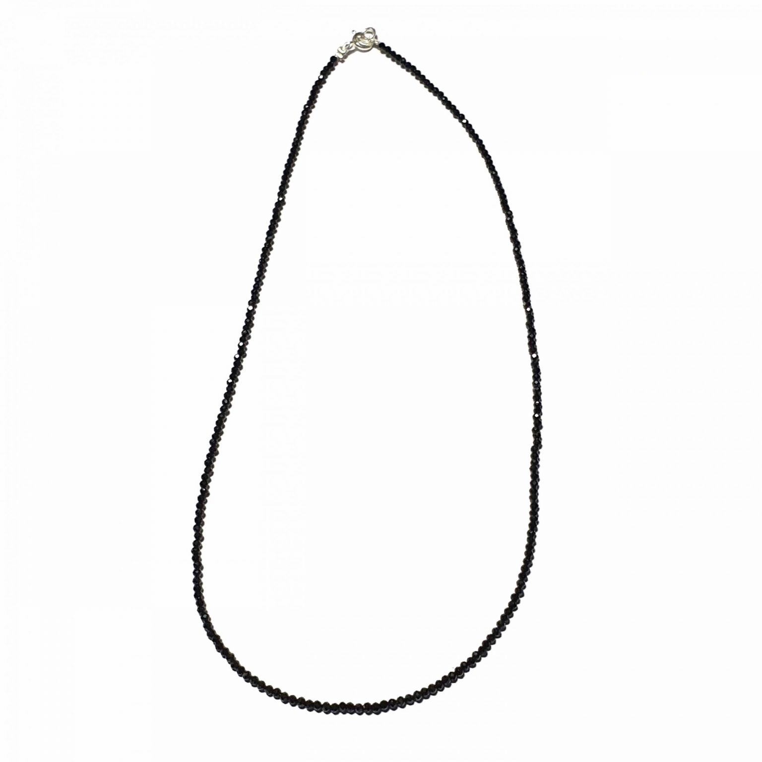 Sterling Silver Black Onyx Beaded Necklace Ethnic Necklace Set crystal necklaces necklaces for women silver necklace for women Pack Of 7 Necklace and 1 Pair Earring Ideal for Women::Girls